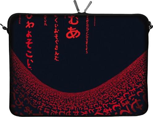 "Image of Digittrade Netbook Sleeve 10,2"" Red Matrix"