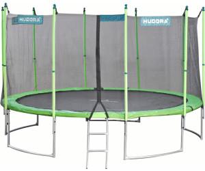 hudora family trampolin 400v mit sicherheitsnetz 65641 ab 319 00 preisvergleich bei. Black Bedroom Furniture Sets. Home Design Ideas