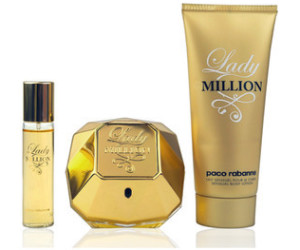 Paco Rabanne Lady Million Set (EdP 80ml + BL 100ml + EdP 5ml)