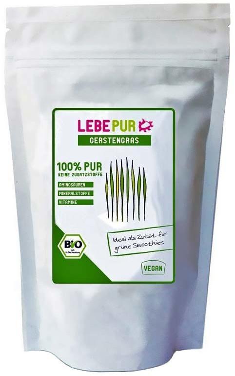 Lebepur Bio Gerstengraspulver (100 g)