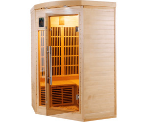 poolstar sauna infrarouge apollon 2 3 au meilleur prix sur. Black Bedroom Furniture Sets. Home Design Ideas