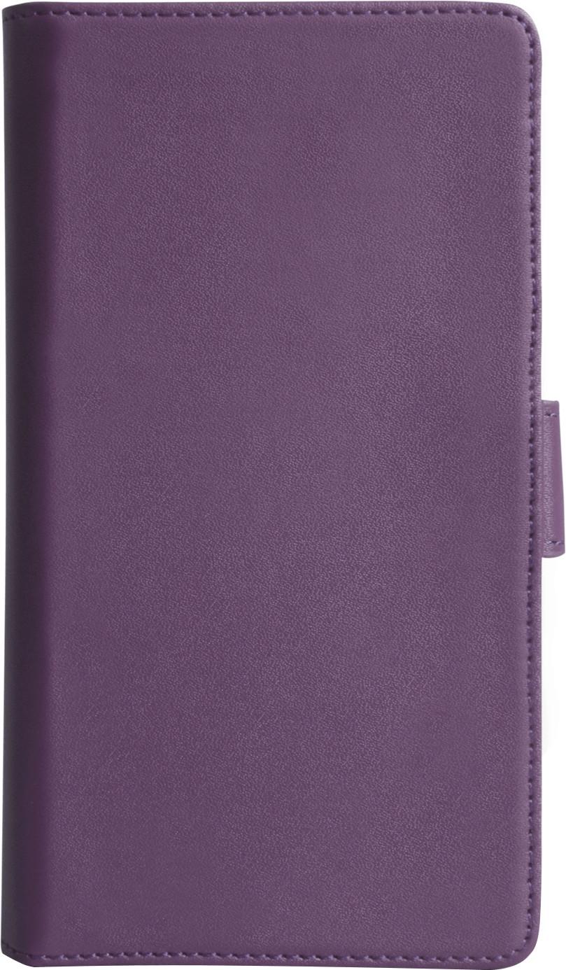 Yousave Book Ledertasche lila (Sony Xperia Z)
