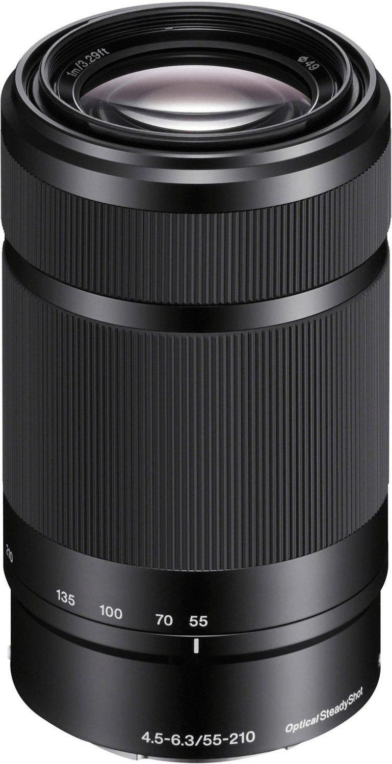 Sony E 55-210mm f4.5-6.3 OSS (negro)