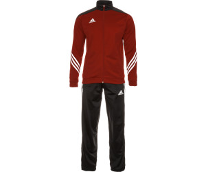 Adidas Sereno 14 Polyesteranzug university redblack ab 46