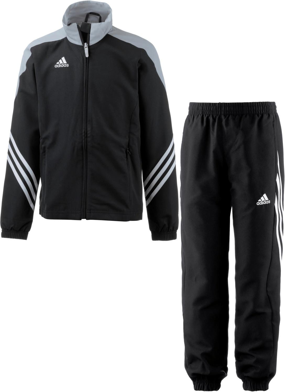 Adidas Kinder Sereno 14 Polyesteranzug black/silver