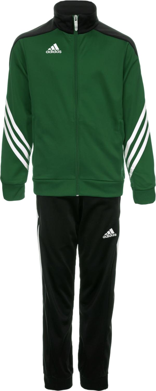 Adidas Kinder Sereno 14 Polyesteranzug twilight green/black