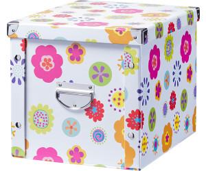 zeller aufbewahrungsbox pappe 26 5 x 27 5 x 36 cm ab 5. Black Bedroom Furniture Sets. Home Design Ideas