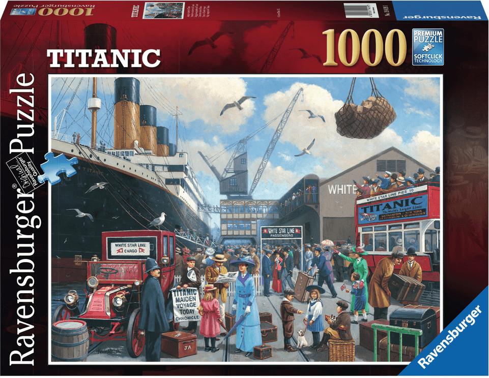 Ravensburger Jungfernfahrt der Titanic (1000 Te...