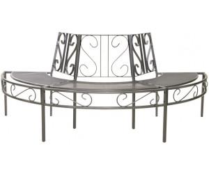 greemotion toulouse baumbank halbrund 5 sitzer streckmetall ab 224 52 preisvergleich bei. Black Bedroom Furniture Sets. Home Design Ideas