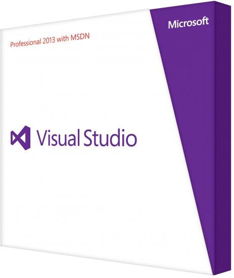 Microsoft Visual Studio 2013 Professional Renew...