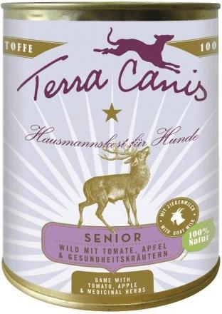 Terra Canis Senior Wild, Tomate, Apfel & Gesund...