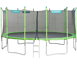 hudora family trampolin 480 cm mit sicherheitsnetz 65653 ab 399 00 preisvergleich bei. Black Bedroom Furniture Sets. Home Design Ideas