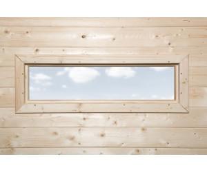 Weka Fenster Gartenhaus 28 mm 97 x 33 cm