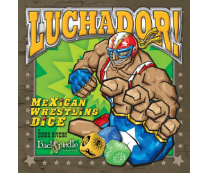 Image of Backspindle Games Luchador! Mexican Wrestling Dice