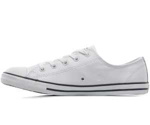 more photos 975fe 845e8 Converse Chuck Taylor All Star Dainty Leather Ox - white ...