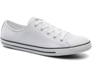 ec452b74c36f Buy Converse Chuck Taylor All Star Dainty Leather Ox - white ...