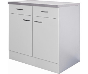 flex well k chen unterschrank wito 80 cm ab 115 00 preisvergleich bei. Black Bedroom Furniture Sets. Home Design Ideas