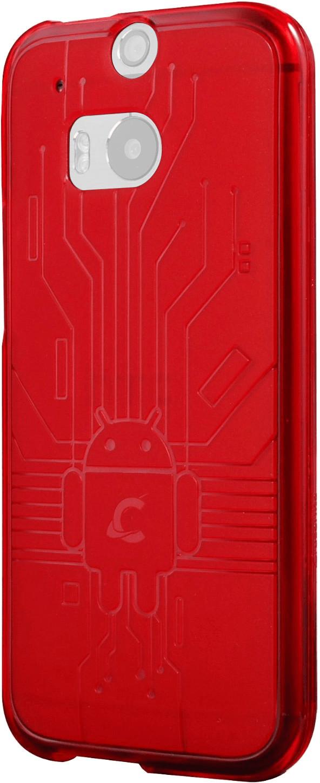 Image of Cruzerlite Bugdroid Circuit TPU Case (HTC One M8)
