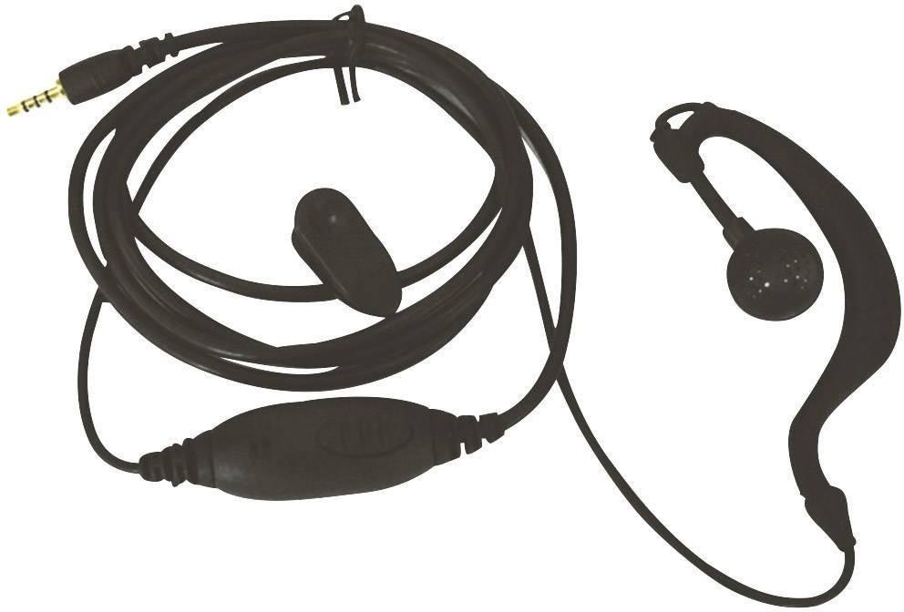 #Team Electronic Ohrhörer mit Ansteckmikrofon#
