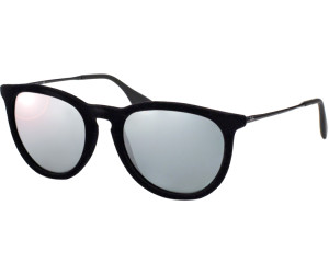 9d905f513c Ray-Ban Erika RB4171 6075 6G (velvet black silver mirrored) ab 82