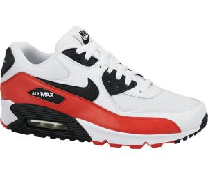 Nike Air Max 90 Essential white/black/lite crimson au meilleur prix sur  idealo.fr