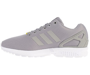 369c1289d7a58 Buy Adidas ZX Flux aluminium/running white from £55.00 – Best Deals ...