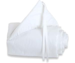 Babybay Gitterschutz Piqué für Verschlussgitter - uni weiß (180821)
