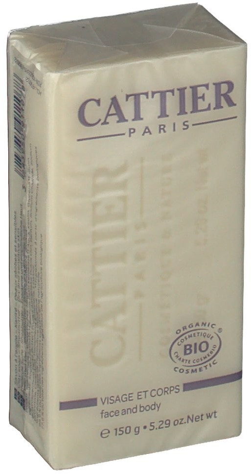 Cattier Bio-Seife mit Sheabutter (150 g)