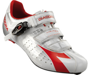 Diadora Trivex SPD-SL Road Shoes - Rennradschuhe Silver - White - Red EU 37 89ideRPE