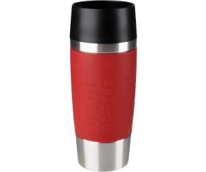 Emsa 513361 Isolierbecher Thermobecher Travel Mug Kaffee ToGo 0.36l schwarz NEU