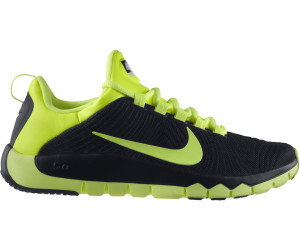 nike free run 2 black yellow billig