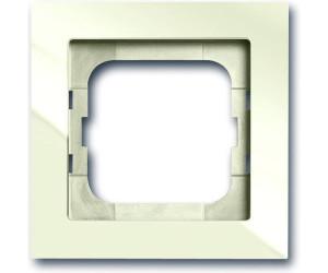 Busch-Jaeger Rahmen 1fach studioweiß glänzend Kunststoff Thermoplast 1721-184K