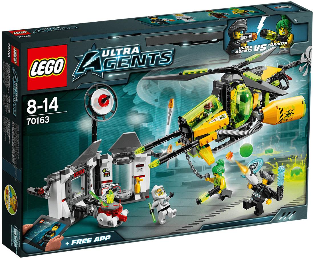 LEGO Ultra Agents - La coulée toxique de Toxikita (70163)