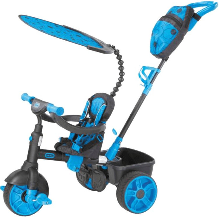 Little Tikes 4 in 1 Trike Deluxe Edition Neon Blue