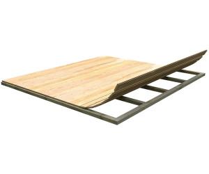 Unterkonstruktion Fußboden Gartenhaus ~ Karibu fußboden für sockelmaß 300 x 300 cm ab 186 87