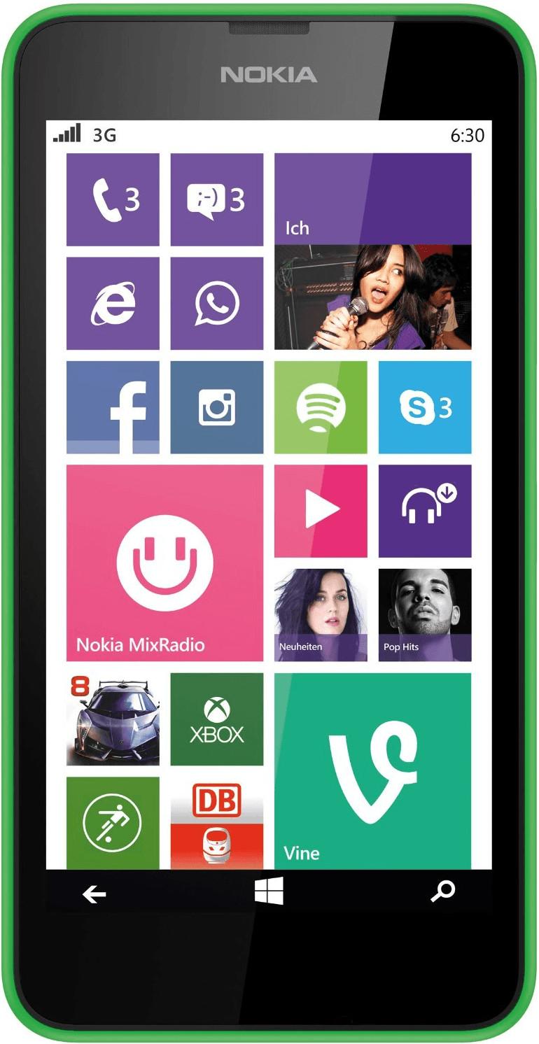 Nokia Lumia 630 Grün