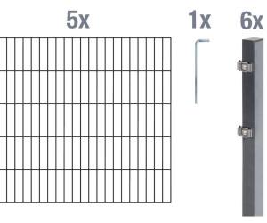 Gah Alberts Zaun Set Doppelstabmatte 10 M X 120 Cm Ab 302 58