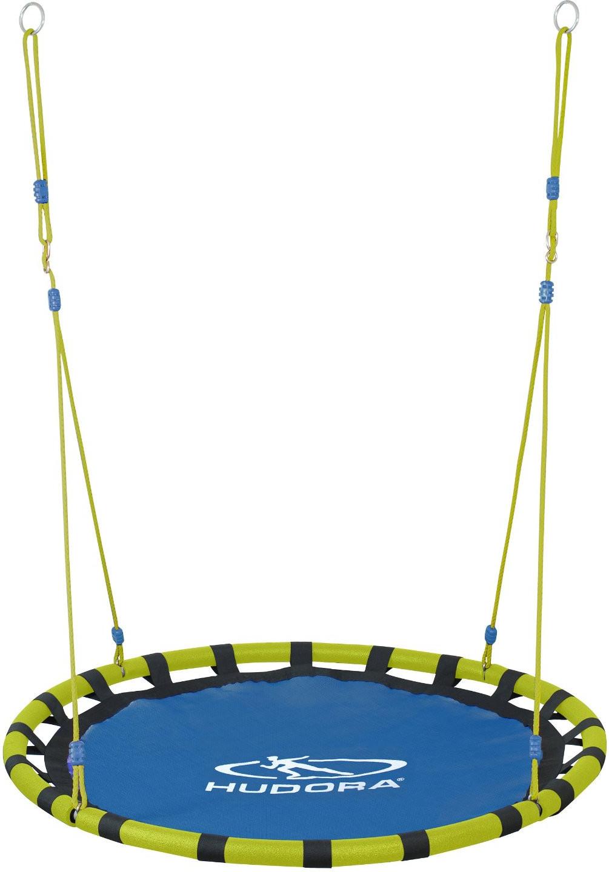 Hudora Nestschaukel Alu 120, blau/gelb (72157)