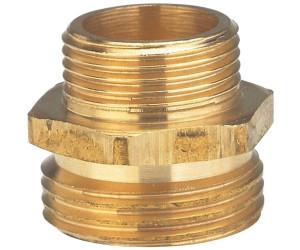 Gardena 7108-20 Messing-Schnellkupplungs-Gewindestück mit IG G 3//4 26,5 mm