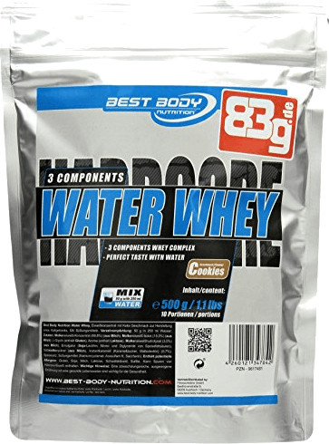 Best Body Nutrition Water Whey 500g Cookies