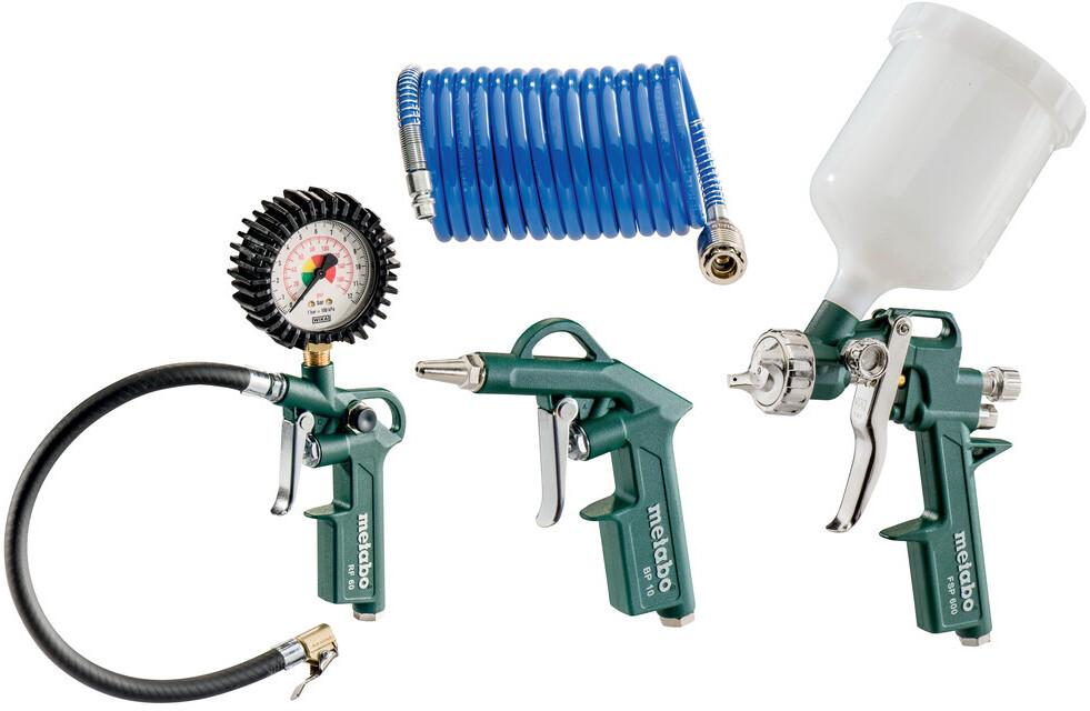 Metabo Druckluft-Werkzeugset LPZ 4 Set | Baumarkt > Werkzeug > Werkzeug-Sets