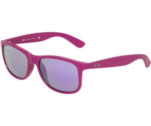 Ray-Ban Lunette de soleil Andy RB4202 Wayfarer, Purple (60714V 60714V)