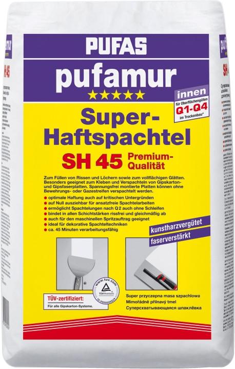 PUFAS pufamur Super-Haftspachtel SH 45 (25 kg)