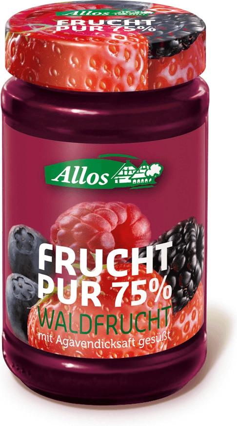 Allos Frucht Pur Waldfrucht (250 g)