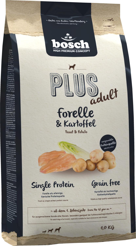 bosch Plus Forelle & Kartoffel (1 kg)