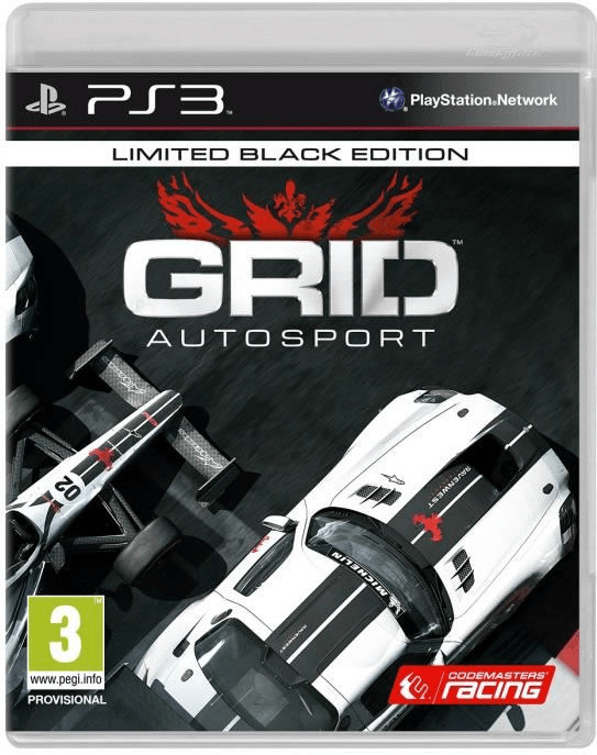 Grid: Autosport - Limited Black Edition (PS3)