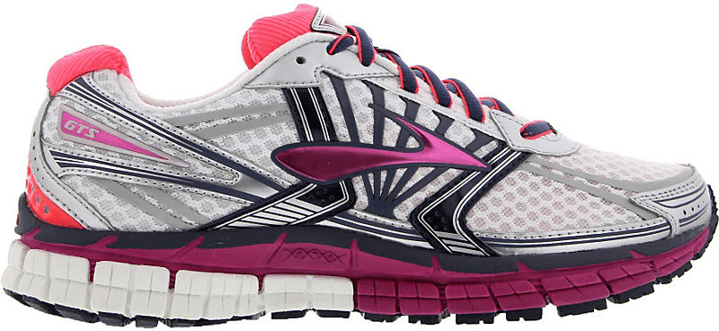 Brooks Adrenaline GTS 14 Women white/fuchsia/mi...