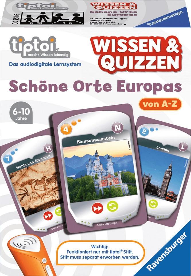 Ravensburger tiptoi Wissen & Quizzen: Schöne Or...