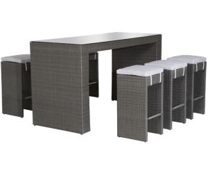 siena garden dayton bar set 7 teilig polyrattan ab preisvergleich bei. Black Bedroom Furniture Sets. Home Design Ideas