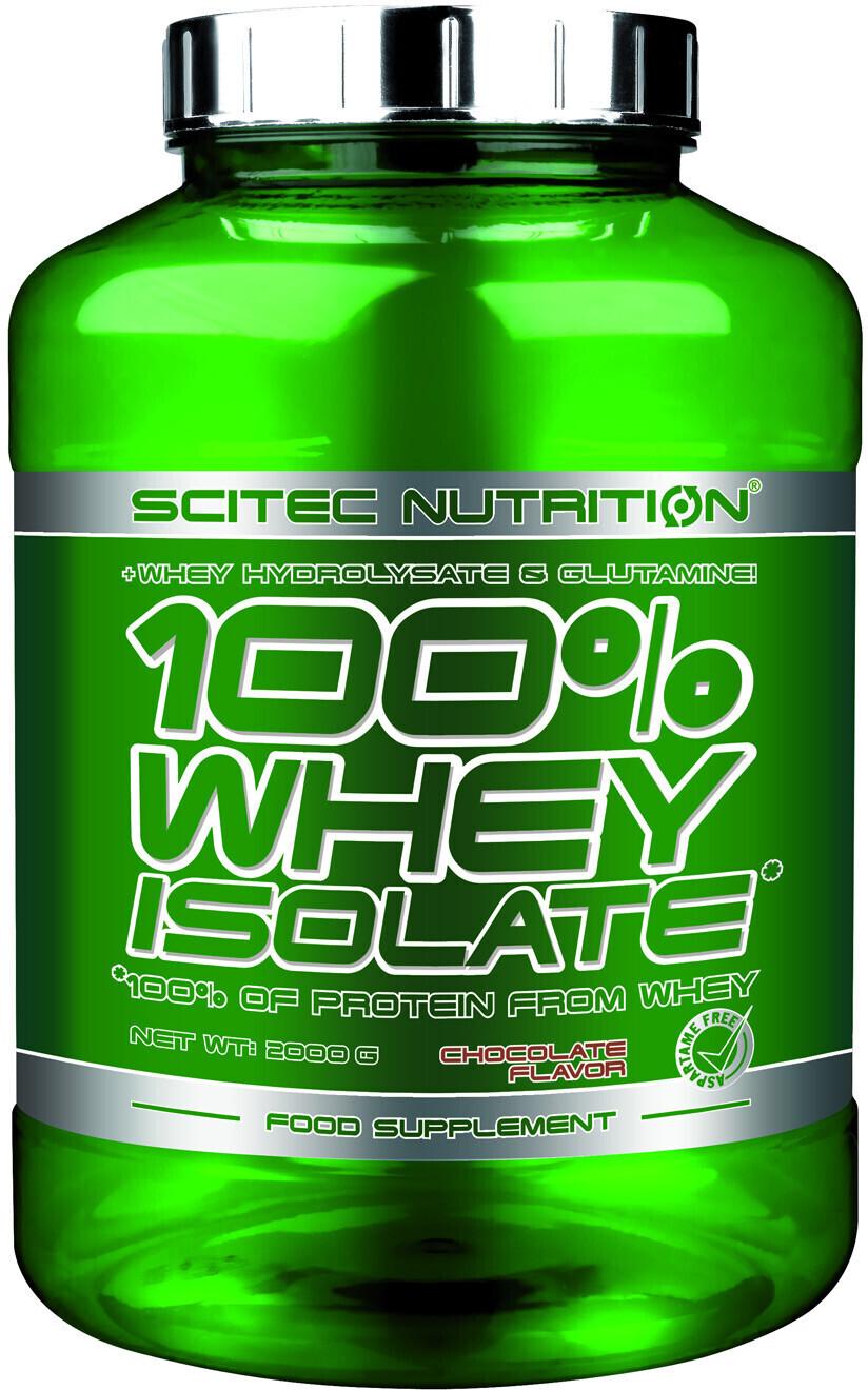 Scitec Nutrition 100% Whey Isolate 2000g Banane